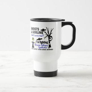 Halloween Warrior CFS Chronic Fatigue Syndrome Coffee Mug