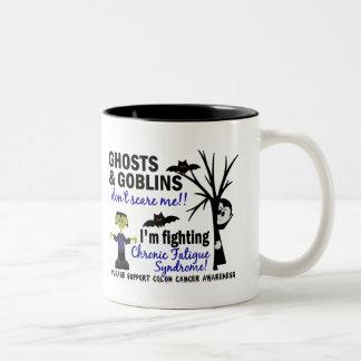 Halloween Warrior CFS Chronic Fatigue Syndrome Mug