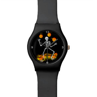 Halloween watch,Mr.Bone-Jangles Wrist Watch