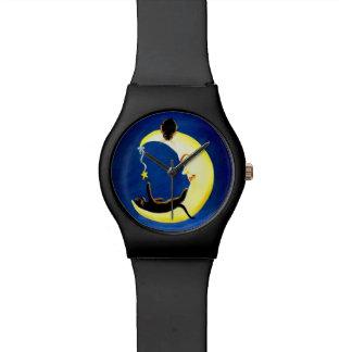 Halloween watch,Salem's Star,black,cats Watches