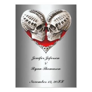 halloween wedding Invitation Invite