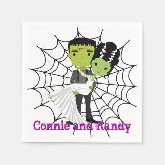 Halloween Wedding Napkin Paper Napkin