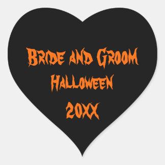 Halloween Wedding Sticker