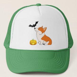 Halloween Welsh Corgi Trucker Hat