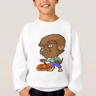 Halloween Werewolf Boy Sweatshirt