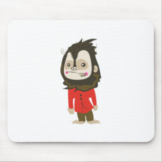 Halloween Werewolf Mouse Pad