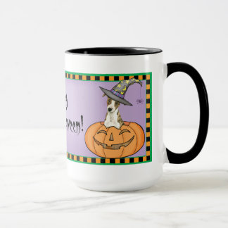 Halloween Whippet Mug