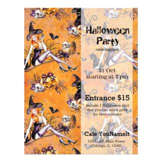 Halloween Witch 21.5 Cm X 28 Cm Flyer