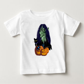 Halloween Witch and Friends T Shird Tshirt