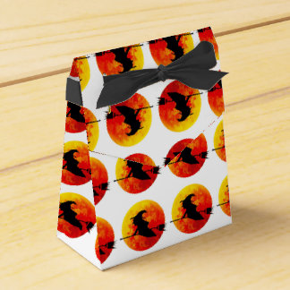 Halloween Witch and the Blood Moon Favour Box