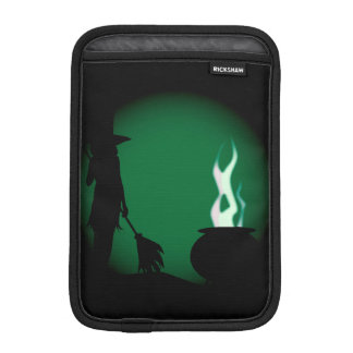 Halloween Witch Background Sleeve For iPad Mini