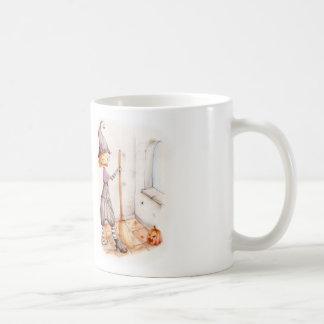 Halloween witch basic white mug