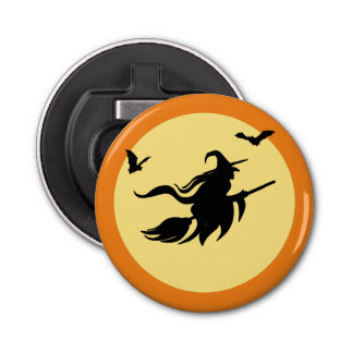 Halloween witch bottle opener