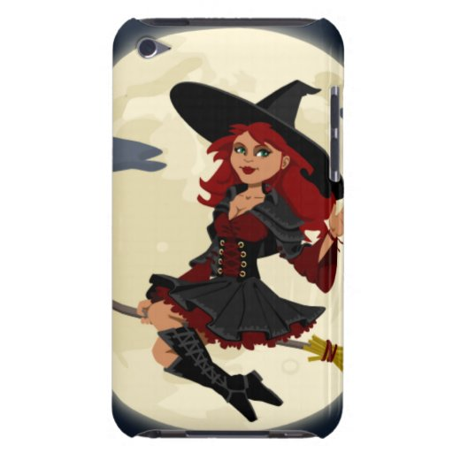 Halloween Witch iPod Touch Case-Mate Case