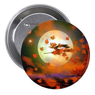 Halloween Witch Flight Button
