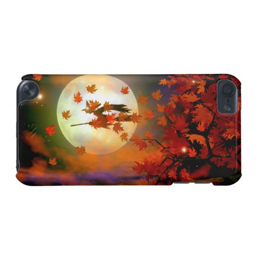 Halloween Witch Flight iPod Touch 5G Covers