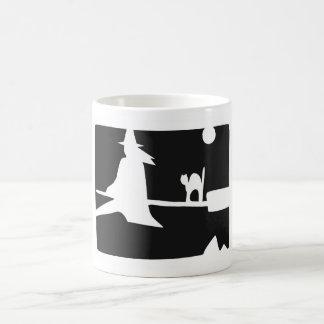 Halloween Witch Flight mug