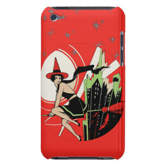 Halloween Witch Flying (vintage) iPod Touch Cases