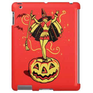 Halloween Witch Girl (vintage) iPad Case