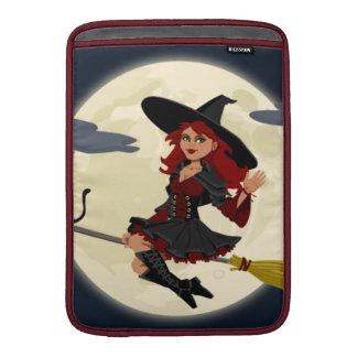 Halloween Witch MacBook Air Sleeves