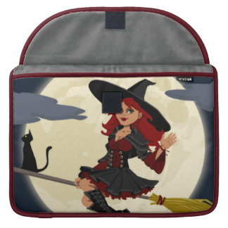 Halloween Witch Sleeves For MacBook Pro