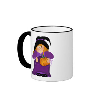 Halloween Witch Ringer Coffee Mug