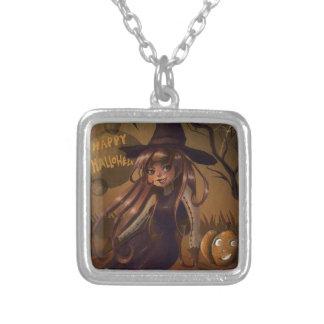 Halloween Witch Custom Necklace