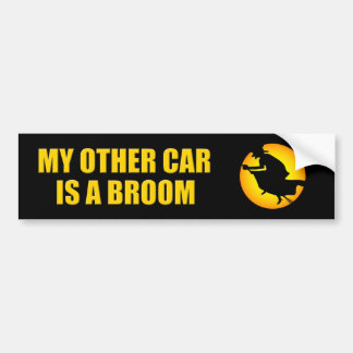 Halloween Witch Other Car Bumper Sticker