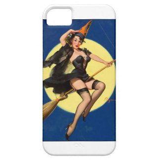 Halloween Witch Pin Up Girl iPhone 5 Cases