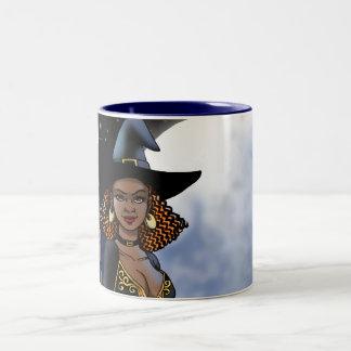 Halloween Witch Pinup Mug