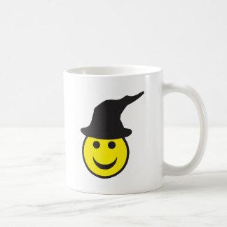 Halloween Witch Smiley Coffee Mug