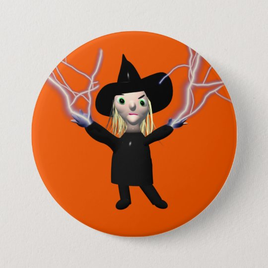 Halloween Witch Spell 7.5 Cm Round Badge
