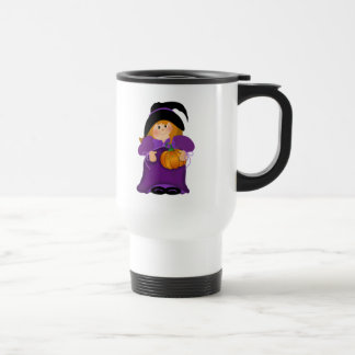 Halloween Witch Stainless Steel Travel Mug