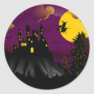 Halloween Witch Sticker