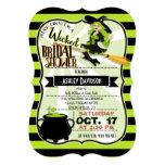 Halloween Witch Theme Bridal Shower 13 Cm X 18 Cm Invitation Card