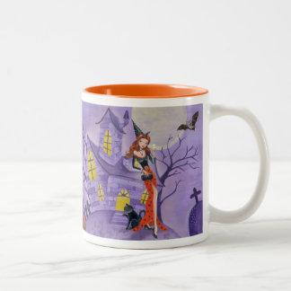 Halloween Witch - Two Tone Mug
