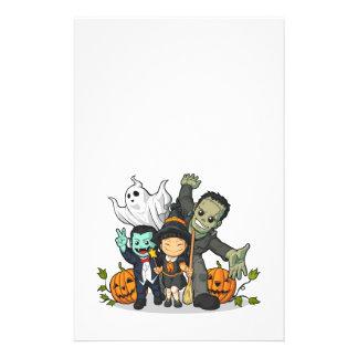 Halloween Witch, Vampire, Frankenstein & Ghost Custom Flyer
