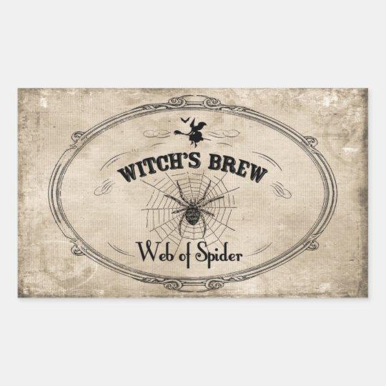 Halloween Witches Brew Ingredient - Web of Spider