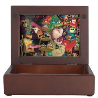 Halloween Witches Kitchen Keepsake Box