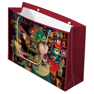Halloween Witches Kitchen Large Gift Bag