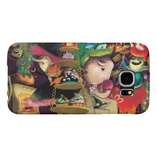 Halloween Witches Kitchen Samsung Galaxy S6 Cases