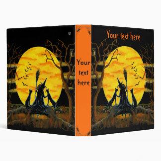 "Halloween witchy binder ""Patience,Halloween Nears"""