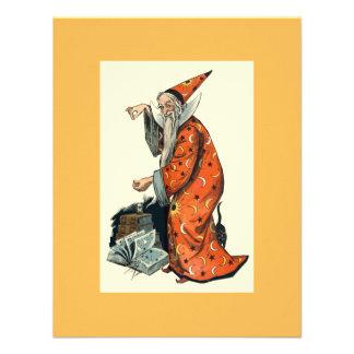 Halloween Wizard Custom Announcements