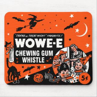 Halloween Wowe-e Whistle Candy Box Art Mousepad