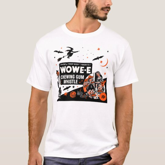 Halloween Wowe-e Whistle T-Shirt