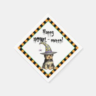 Halloween Yorkie Disposable Napkin