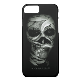 Halloween zombie face iPhone 7 case