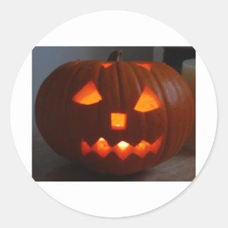 Halloweeny man sticker