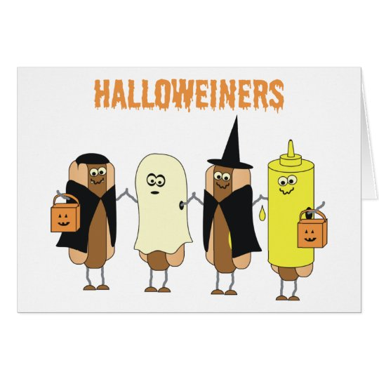 Halloweiners Card