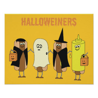 Halloweiners Poster